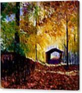 Brown County Covered Bridge Canvas Print