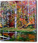 Brown County In Fall Canvas Print