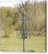 Brown Park Disc Golf Course Canvas Print