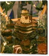 Brownie Under Glass Canvas Print