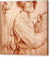 Bruegel: Painter, 1565 Canvas Print