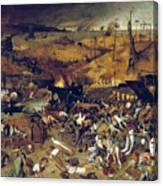 Bruegel: Triumph Of Death Canvas Print