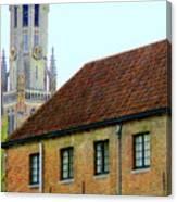 Bruges 18 Canvas Print