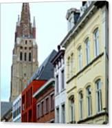 Bruges 3 Canvas Print
