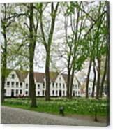 Bruges Begijnhof 1 Canvas Print