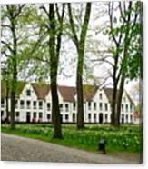 Bruges Begijnhof 2 Canvas Print
