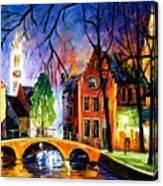 Bruges Belgium Canvas Print