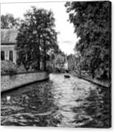 Bruges Bw2 Canvas Print