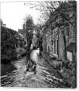 Bruges Bw4 Canvas Print