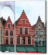 Bruges Markt 6 Canvas Print
