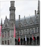 Bruges Markt 9 Canvas Print