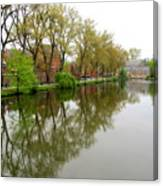 Bruges Minnewater 1 Canvas Print