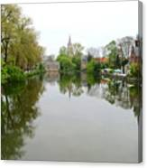 Bruges Minnewater 2 Canvas Print