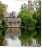 Bruges Minnewater 5 Canvas Print