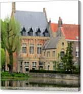 Bruges Sashuis 1 Canvas Print