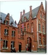 Bruges Sashuis 5 Canvas Print