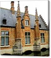 Bruges Sashuis 6 Canvas Print