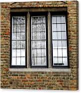 Bruges Window 3 Canvas Print