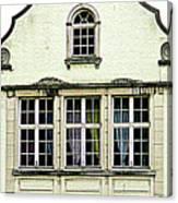 Bruges Window 8 Canvas Print