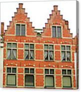 Bruges Window 9 Canvas Print