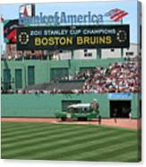 Bruins At Fenway Canvas Print
