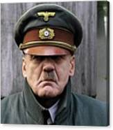 Bruno Ganz As Adolf Hitler Publicity Photo Number One Downfall 2004 Frame Added 2016 Canvas Print