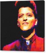 Bruno Mars Canvas Print