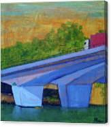 Brunswick River Bridge Canvas Print
