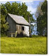 Brushy Peak  Cabin Canvas Print
