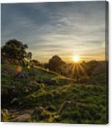 Brushy Peak Sunset Canvas Print
