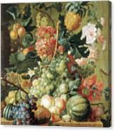 Brussel Fruits 1789 Canvas Print