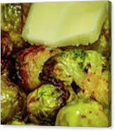 Brussel Sprouts 2 Canvas Print