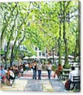 Bryant Park Nyc Canvas Print
