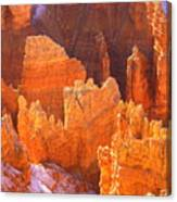 Bryce Ablaze Canvas Print