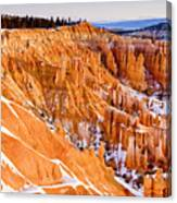 Bryce At Sunrise Canvas Print