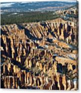 Bryce Canyon In The Evening Canvas Print