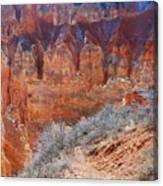 Bryce Canyon Light  Canvas Print