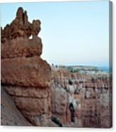 Bryce Canyon Navajo Loop Trail Window Canvas Print