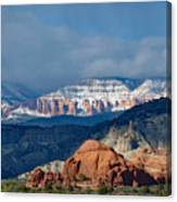 Bryce Canyon Snowstorm Canvas Print
