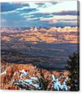Bryce Canyon Sunset - 2 Canvas Print
