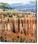 Bryce Canyon Vertical Hoodoos Canvas Print