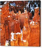 Bryce Canyon Winter 1 Canvas Print