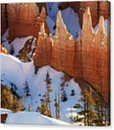 Bryce Canyon Winter 3 Canvas Print