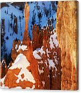 Bryce Canyon Winter 4 Canvas Print