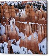 Bryce Canyon Winter 9 Canvas Print