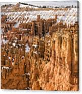 Bryce Canyon Winter Panorama - Bryce Canyon National Park - Utah Canvas Print