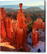 Bryce Canyon's Thor's Hammer Canvas Print