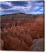 Bryce Clouds 2 Canvas Print