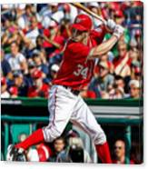 Bryce Harper Washington Nationals Canvas Print