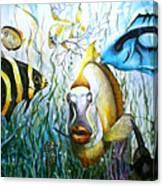 Bubba Fish And Friends Canvas Print